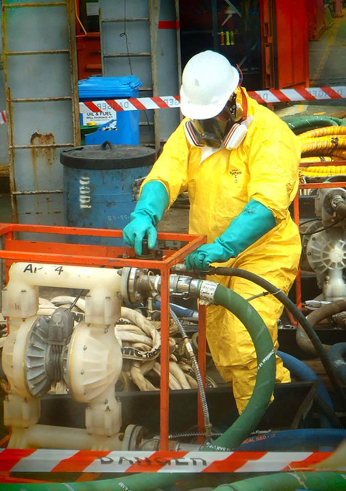 Chem Sampling at Pump
