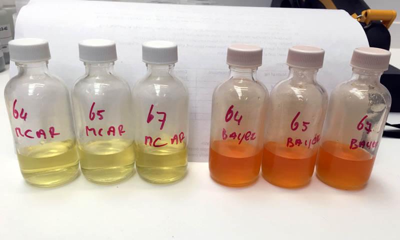 research lab vials